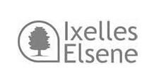Logo - Commune d'Ixelles - Grayscale